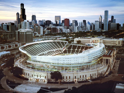 Soldier Field Where Chicago Flexes Its Big Shoulders