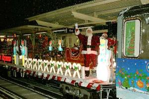 The CTA Holiday Train