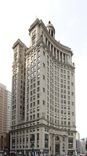 The former Crain Communications Building at 360 N. Michigan Ave.