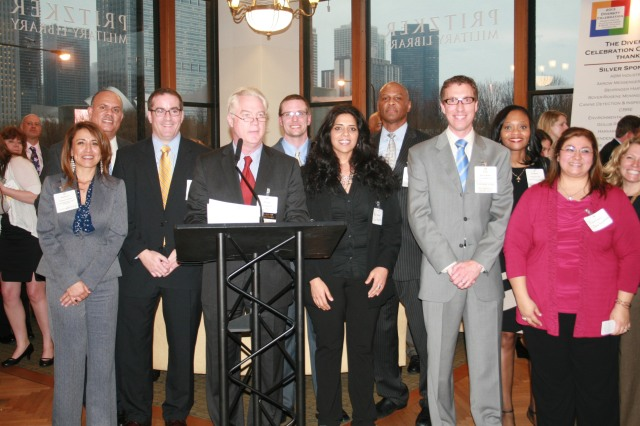 BOMA/Chicago's Diversity & Corporate Social Responsibility Committee at the Diversity Celebration