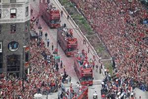 What to expect: The downtown Blackhawks victory parade after the 2010 Stanley Cup win