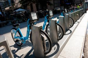 Divvy bike sharing station