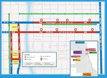 Central Loop BRT Map