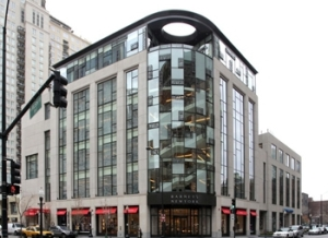 1-15 E. Oak St, also known as the Barneys building. Photo from CoStar Group Inc.