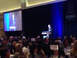 George Kohl kicks off the 111th Annual Meeting at the JW Marriott on November 21.