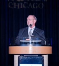 Michael Cornicelli, BOMA/Chicago Executive Vice President, kicks off the Annual Meeting.