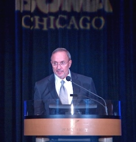 Michael Cornicelli speaking at the 2013 Annual Meeting.