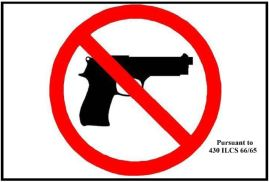 2014 Concealed Carry Sign